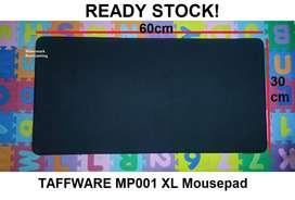 Taffware MP001 Large Jumbo XL Mousepad Hitam Polos
