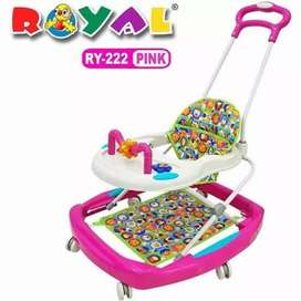 Baby walker royal YR 222/ alat belajar jalan / apolo