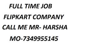 Flipkart Company helper,store keeper,supervisor full time job 100%  Ma