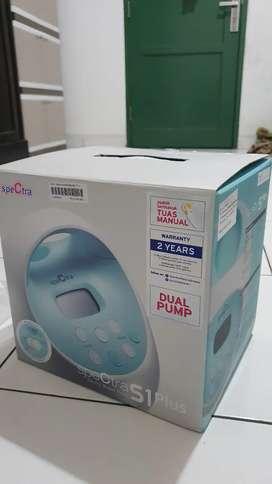 Pompa susu elektrik dual pump spectra S1 plus