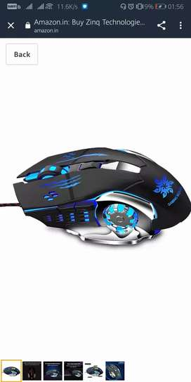 Gaming Mouse 6 button 3200 dpi not even used