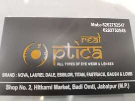 Need a salesgirl for the Optical Store