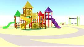 Dijual playground waterboom odong mainan taman kereta wisata bianglala