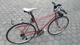 Sepeda langka antik fixie balap roadbike hybird