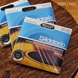 Senar Gitar Akustik D'Addario EXP16 .012-053 - Acoustic Guitar String