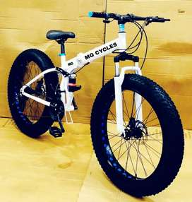 NEW FAT  TYRE FOLDING 21 GEARS  BICYCLE AVAILABLE