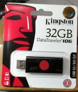 Flashdisk Kingstone 32GB Sudah USB 3