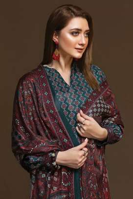 Nishat Linen Original printed dress 2 pc & 3 pc with discount