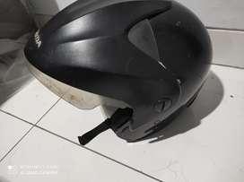 Helm honda hitam