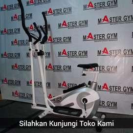 Alat Fitness ELLIPTICAL BIKE - MASTER GYM Fitness Store !! MG#9901