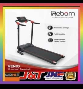 Alat fitnes treadmill elektrik murah promo