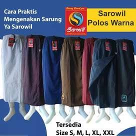 Sarung Celana Sirwal Polos / Tumpal