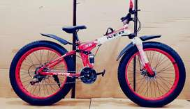 Brand new fat foldable cycles