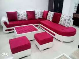 Delivery free :: brand new sofa set