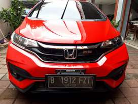 Honda Jazz RS At (Audio floting) 2017 istimewa. Plat Genap DP Minim