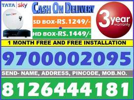 70% Off Diwali Offer In Tata Sky & Dish Tv - tatasky All india COD