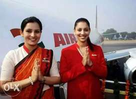 Need fresh candidates job for Air India Airlines in IGI Airport delhi