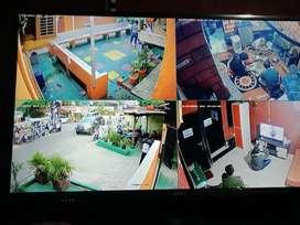 Agen pemasangan camera CCTV murah seting online ke HP gratis pasang
