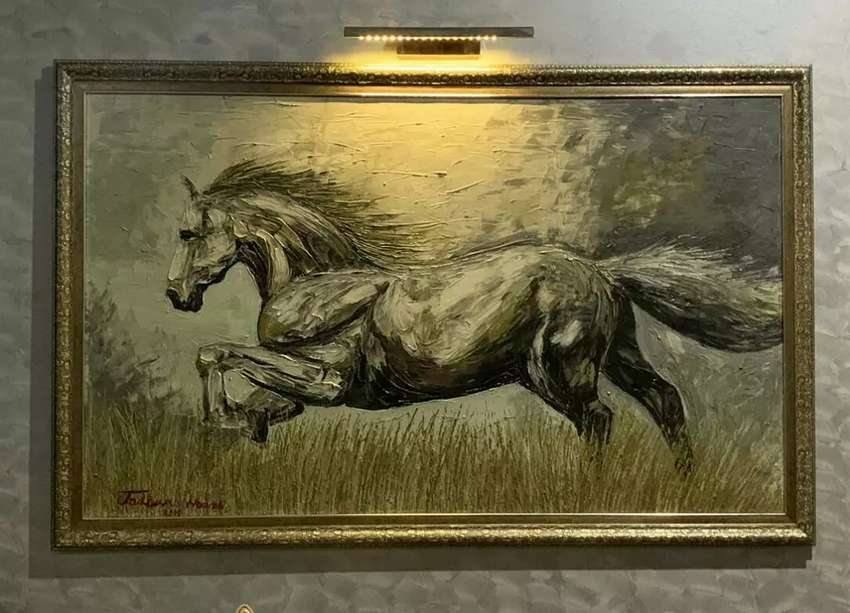 15 Sq. Feet big horse painting 0