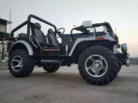 Modified willy jeeps