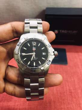 Tag Heuer Aqua Racer 300m Luxury Watch with Bill Box