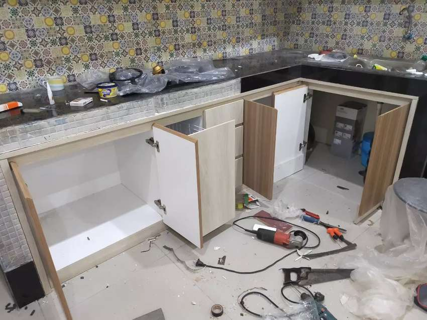 Kitchen set lemari pakaian lemari bawah tangga backdroptv  2 0