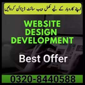 Complete Website Design and Development for your Business
