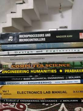 Engineering s1,s2,s3  books for sale