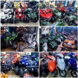 2021 whole stock of recondition&brand new 49cc to 249cc ATV QUAD BIKE