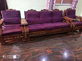 wood sofa for sale