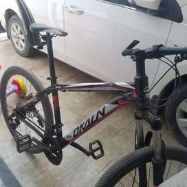 Dkaln slamrax M.bike with total 11 gears.