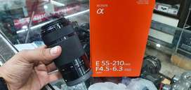 Sony 55×210 zoom lens f/4.5 6.3 oss condition 10/10+ just box open