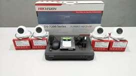 Produk kamera CCTV+instalasi pemasangan keamanan kantor dan rumah