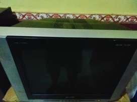 Tv Sharp 24inc layar datar