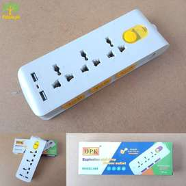 2 USB ports And 9 Sockets Power Electric Multipurpose Extension Board