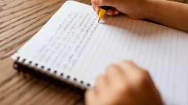 Good Handwriting Best opportunity for more EARNINGS