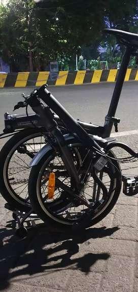 Sepeda lipat united trifold 3 speed
