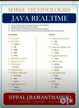 Java real time online courses