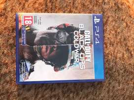 PS4 Game Call Of Duty ; Black Ops Cold War