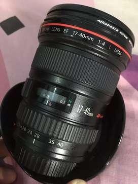 canon 17 40 L USM