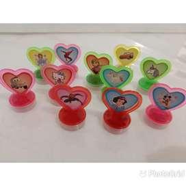 stempel karakter stempel lucu mainan stempel anak stempel murah