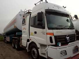 foton Mp900 with oil tanker