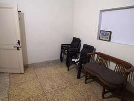 1 room for rent with bedroom study table chair and been bag