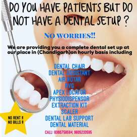 Want to do patient but dont have dental clinic no need to worry