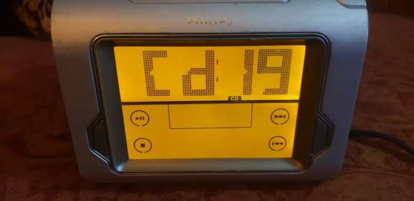 Phillips Radio Alarm clock Touch screen  with CD player
