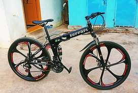Ferrari Foldable 21 Gears Shimano Cycle LATEST