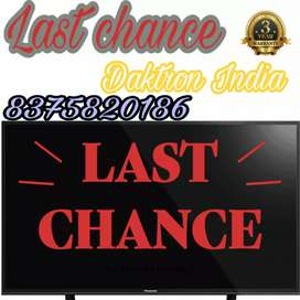 "Last chance!! 40"" smart led television in series - 6 in just 9999/-"