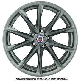 Velg Amw HRe Ring 18×8 pcd 5×114.3 gunmetal