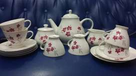 Tea set bunga lawang