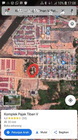 Dijual Tanah 500 m di Tiban V Batam